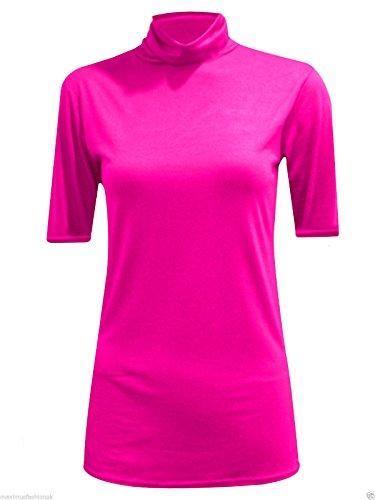 JAVOX Fashion's - Camiseta - para mujer fucsia