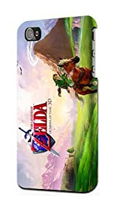 The Legend of Zelda : Ocarina of Time Game Snap on Plastic Case Cover Compatible with Apple iPhone 5s