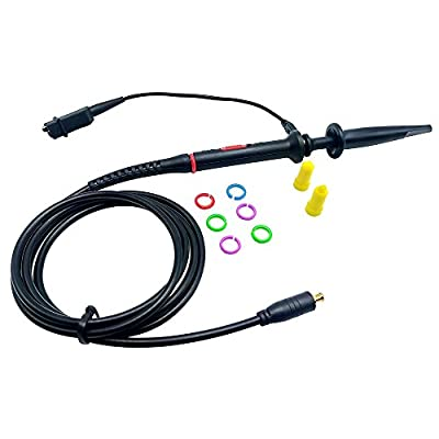 Amadget 60MHz MCX-Probe-x1-amp-x10 Black Oscilloscope Clip Probes for ARM Nano digital Oscilloscope DSO201 DSO202 DSO203 with Accessory Kit