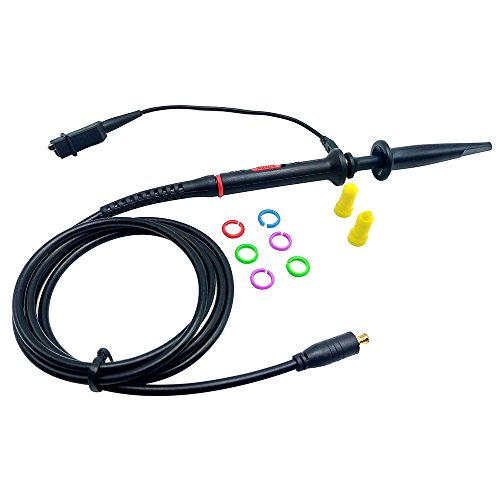 Amadget 60MHz MCX-Probe-x1-amp-x10 Black Oscilloscope Cli...