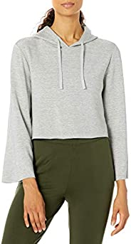 Amazon Brand - Core 10 Women's Cloud Soft Cropped Bell Sleeve Relaxed Fit Yoga Sweats
