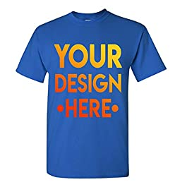 Design Your OWN Shirt Customized T-Shirt – Add Your Picture Photo Text Print