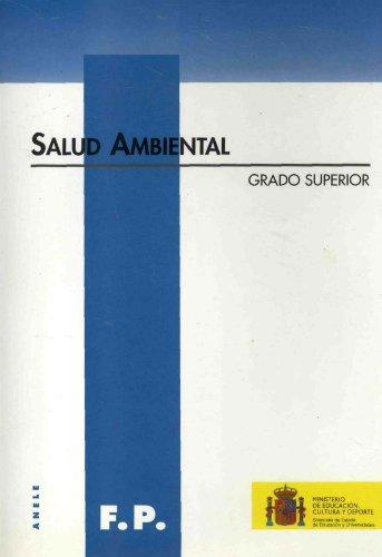 Descargar Libro Salud Ambiental. Grado Superior Andrés Maza Iglesias