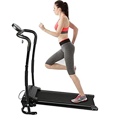 Homgrace Folding Treadmill Electric Support Motorized Power Jogging Machine Running Fitness