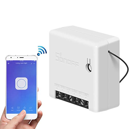 Sonoff MINI Smart Switch funciona con IFTTT control autom/ático programado control remoto inal/ámbrico