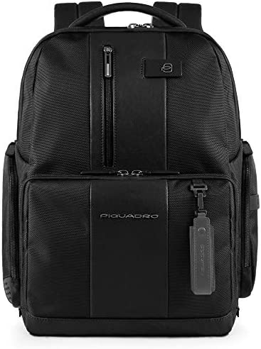 PIQUADRO Backpack Male Black - CA4439BRBM-N / PIQUADRO Backpack Male Black - CA4439BRBM-N