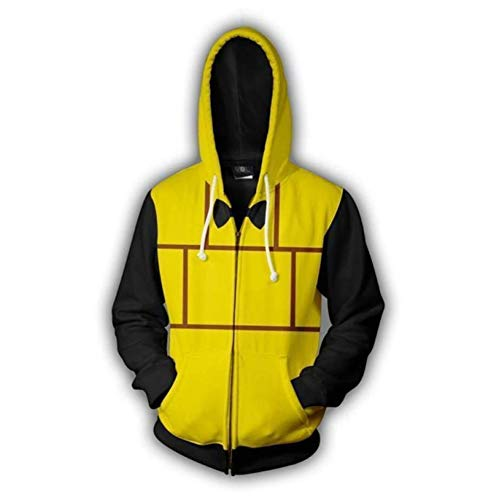 HPY Gravity Falls Hoodie Bill Cipher Cosplay Costume Jacket Christmas Halloween,2XL]()