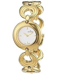 Grovana Women's 4567-1112 Ladies Dress line Analog Display Swiss Quartz Gold Watch