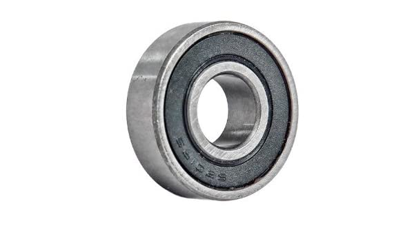 10 Pcs Premium 6201-8 6201-1//2 2RS Rubber Sealed Deep Groove Ball Bearing 12.7x