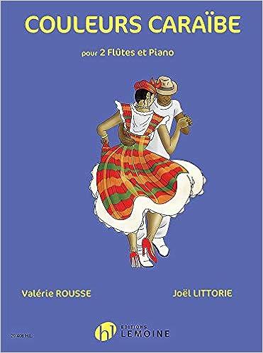Livre electronique gratuit Couleurs Caraïbe (2 Flutes & Piano)