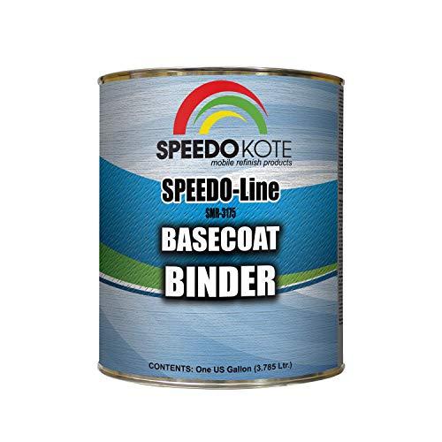 - Speedokote Basecoat Binder for automotive base coat, One Gallon SMR-3175