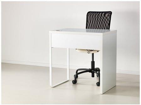 IKEA MICKE - Escritorio, blanco - 73x50 cm: Amazon.es: Hogar