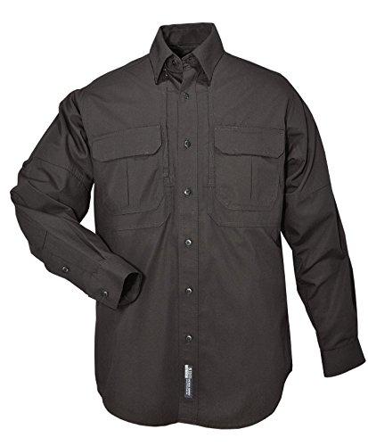 5.11 Camisa táctica táctica de manga larga, negra, pequeña