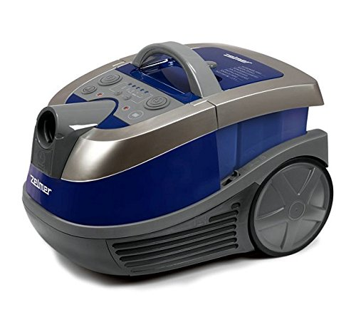 Zelmer Aqua World 919.0 ST Cylinder Vacuum Cleaner with Bag and Bagless Function (Blue)