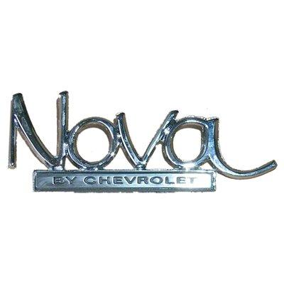 GMK401270269 Trunk Lid Emblem for 1969-1972 Chevrolet Nova