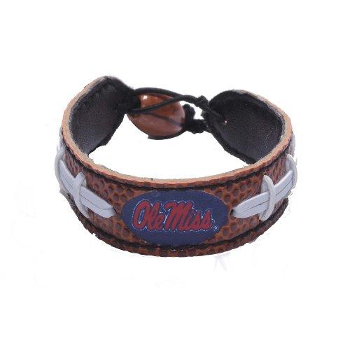 NCAA Ole Miss Rebels Classic Football Bracelet ()