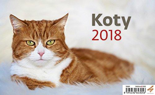 Kalendarz 2018 Biurkowy Koty