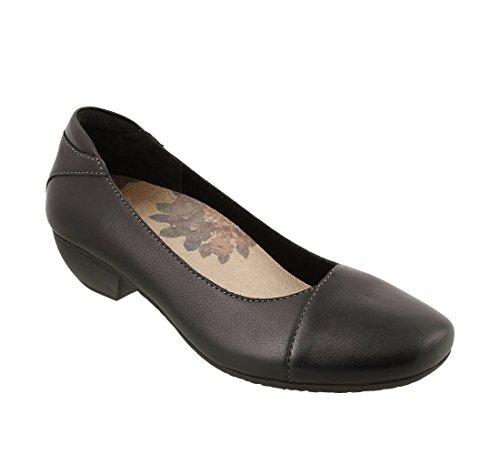 Blk Leather Footwear - 2
