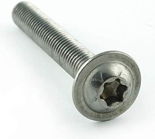 Gewindeschrauben - ISO 7380 Linsenkopf Schrauben mit Flachkopf und Bund rostfrei Eisenwaren2000 M8 x 70 mm Linsenkopfschrauben mit Innensechskant und Flansch 10 St/ück Edelstahl A2 V2A