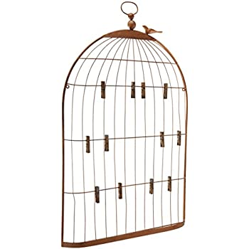Amazon Creative CoOp Metal Birdcage Card And Photo Holder Mesmerizing Birdcage Memo Board