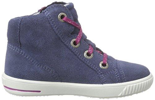 Superfit Moppy - Zapatillas de running Bebé-Niños azul - Blau (MOONLIGHT KOMBI 91)