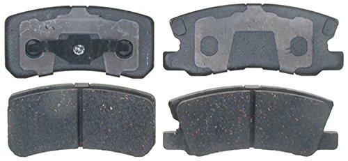 - ACDelco 17D868C Professional Ceramic Rear Disc Brake Pad Set