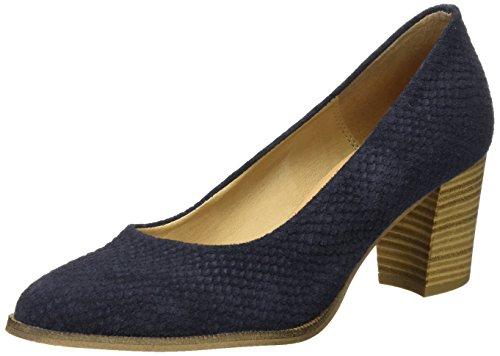 Tamaris 22439, Escarpins Femme Bleu (Navy Structure 855)