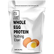 It's Just - Whole Egg Protein Powder, Nothing Else, Made in USA, Non-GMO (20oz)
