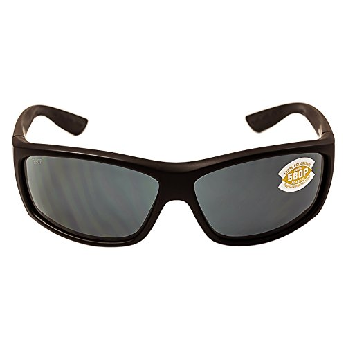 Costa Saltbreak Blackout Polarized 580P Sunglasses BLACKOUT GRAY 580P