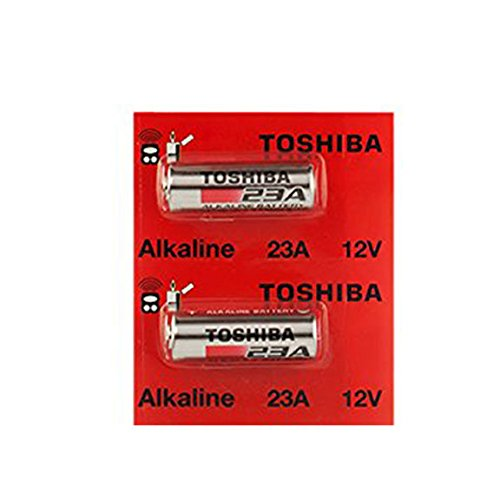 Toshiba Replacement Remotes (Toshiba Alkaline A23 GP23AE MN21 23GA 12 Volt Battery (2 Batteries))