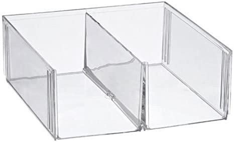 OC ORDEN EN CASA Y MUCHO MAS Cubo metacrilato Dos Compartimentos ...