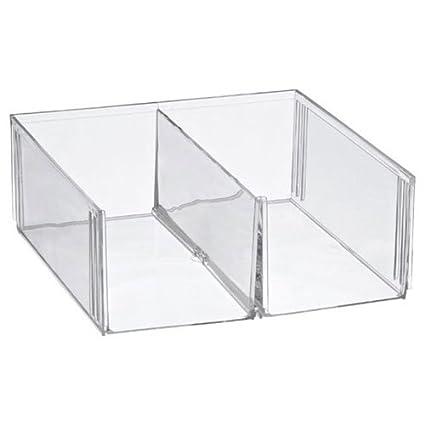 Cubo metacrilato dos compartimentos, 30*30*11cm: Amazon.es: Juguetes y juegos