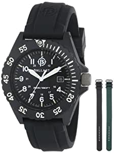 Ballast Men's BL-3118-01 Bright Star Analog Swiss-Quartz Black Watch