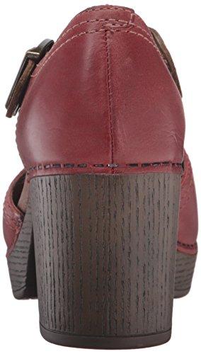 Dansko Womens Darlene Dress Pump Red Full Grain G9606