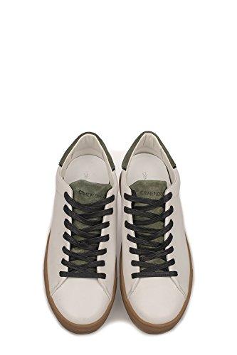Crime London Sneakers Uomo 11207KS110 Pelle Bianco/Verde