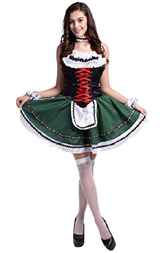SPJ-Womens-Alice-Style-Wonderland-Cosplay-Anime-Maid-Costumes-Lolita-Girls-Dress
