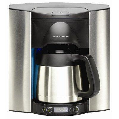 Programable 10 taza empotrable cafetera eléctrica por Brew ...
