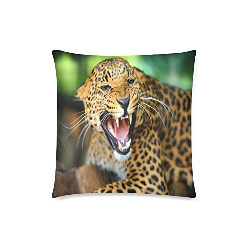 Cheetah Wildlife Rectangle Sofa Home Decorative Throw Pillow Case Cushion Cover Cotton Polyester Twin Side Printing 18