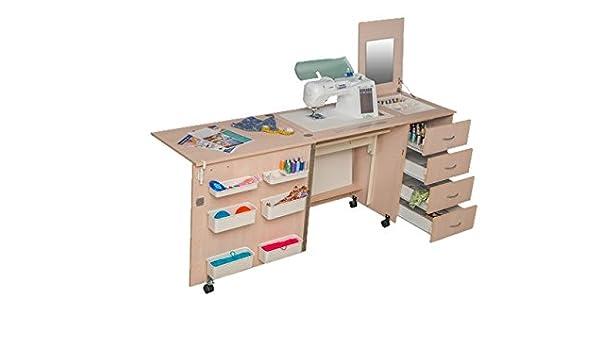 Comfort 2 | mesa para máquina de coser |, Premium White, L (Air ...