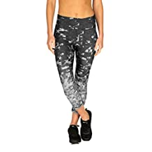 RBX Womens Quick Dry Space Dye Capri Pants