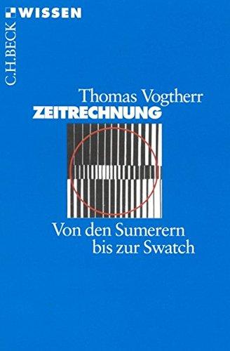 Price comparison product image Zeitrechnung. Von den Sumerern bis zur Swatch.