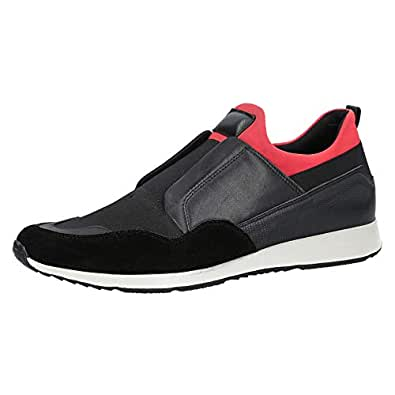 Konfidenz Black Slip On For Men