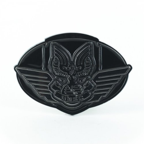 Belt Officially Licensed - Halo UNSC Plaque Officially Licensed Belt Buckle