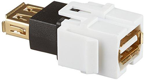 Monoprice 106561 Keystone Jack USB Coupler