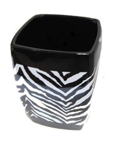 (Creative Bath Products Zebra Wastebasket)