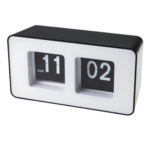 Amazon.com: Rison® Classic Retro Auto Flip Digital Clock Wall Desk Table Stylish Modern Work Home: Home & Kitchen