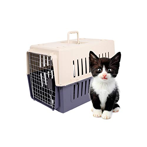- Dporticus Portable Pet Airline Box,Outdoor Portable Cage Carrier Suitable for Dogs Cats Rabbits Hamsters etc,Three Size