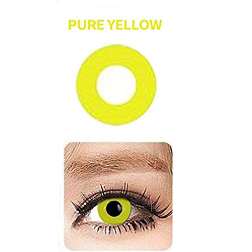 WQFXYZ Women Multi-Color Contact Lenses Cosplay Eyes Cute Charm and Attractive Fashion Eye Accessories Cosmetic Makeup Eye Shadow (4)