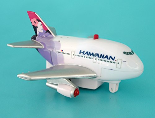 (Daron Hawaiian Pullback Toy with Light and Sound)