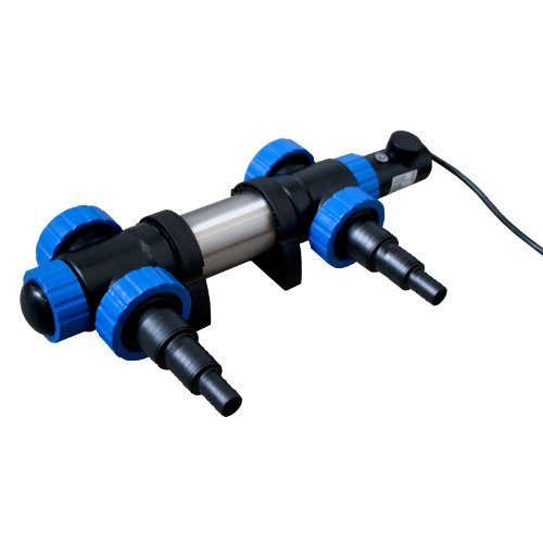 Jebao pht3000 - Jebao Teichheizung - 3000 Watt Leistung - Edelstahlkörper - mit Thermostat - Eisfreihalter - Teichheizer …